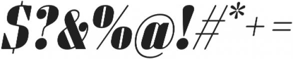 Sperling FY Black Italic otf (900) Font OTHER CHARS