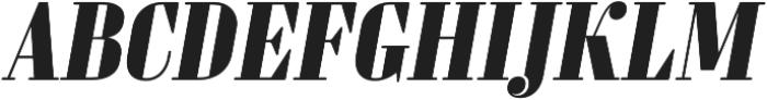 Sperling FY Black Italic otf (900) Font UPPERCASE