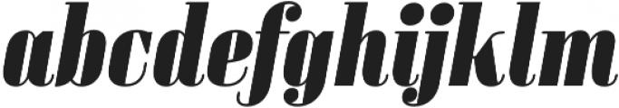 Sperling FY Black Italic otf (900) Font LOWERCASE