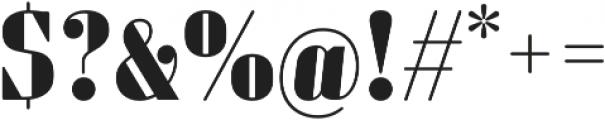 Sperling FY Black otf (900) Font OTHER CHARS