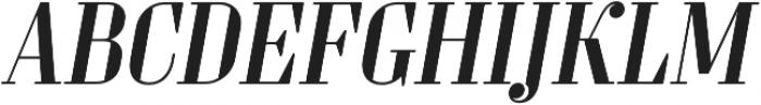 Sperling FY Medium Italic otf (500) Font UPPERCASE