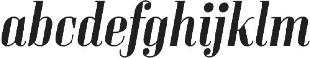 Sperling FY Medium Italic otf (500) Font LOWERCASE