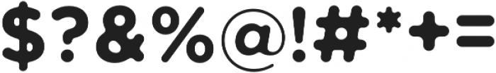 Sphere Sans Regular otf (400) Font OTHER CHARS