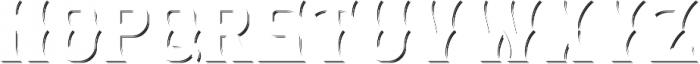 SpicedRum ShadowFX otf (400) Font UPPERCASE