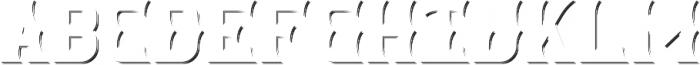 SpicedRum ShadowFX otf (400) Font LOWERCASE
