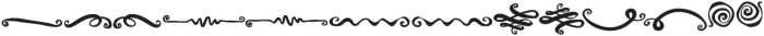 Spirals Swashes otf (400) Font UPPERCASE