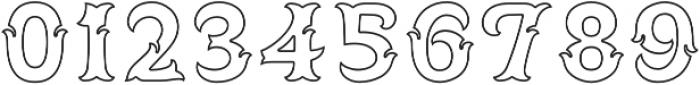 Spirit Board Contour otf (400) Font OTHER CHARS