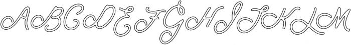 Spirit of Montana outline_update otf (400) Font UPPERCASE