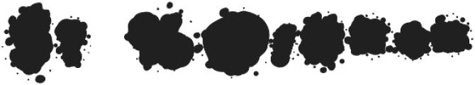 SplasherWhiteFill Regular otf (400) Font OTHER CHARS