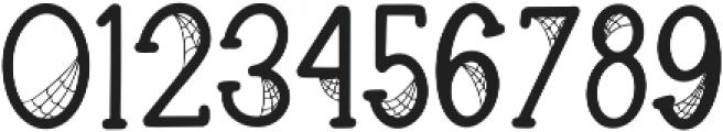 Spooky Webbie otf (400) Font OTHER CHARS