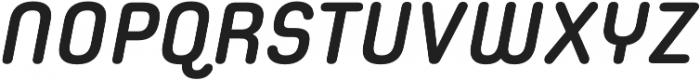 Spoon Bold Italic otf (700) Font UPPERCASE