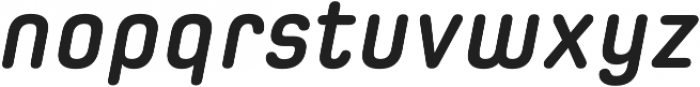 Spoon Bold Italic otf (700) Font LOWERCASE