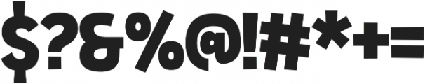 Sportsball Sans otf (400) Font OTHER CHARS