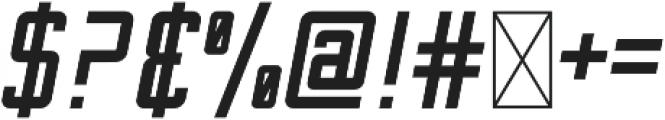 Sportsman Block Italic otf (400) Font OTHER CHARS