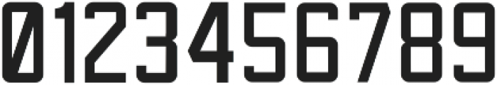 Sportsman Block Regular otf (400) Font OTHER CHARS