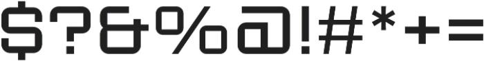 Sporty Pro Light otf (300) Font OTHER CHARS