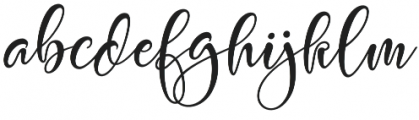 Spotlight otf (300) Font LOWERCASE