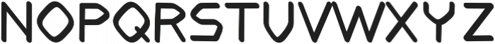 Sprawl regular otf (400) Font LOWERCASE