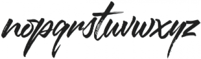 Sprightful Font otf (400) Font LOWERCASE