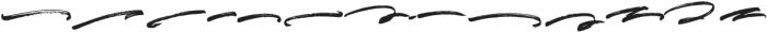 Sprightful Swashes otf (400) Font LOWERCASE