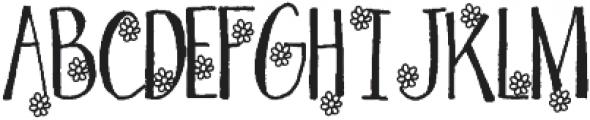 Spring Love otf (400) Font UPPERCASE
