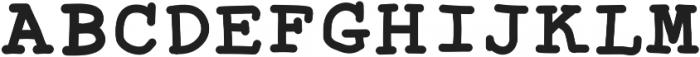 SproutWriterBold ttf (700) Font UPPERCASE