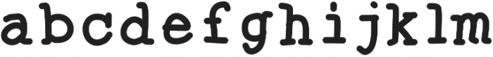 SproutWriterBold ttf (700) Font LOWERCASE