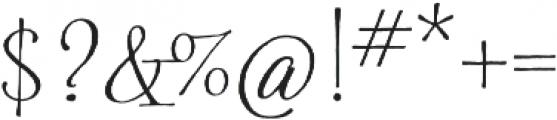 Spry Roman Pro otf (400) Font OTHER CHARS