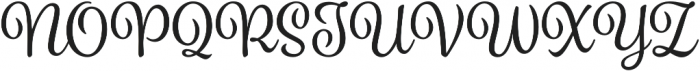 Spumante otf (400) Font UPPERCASE