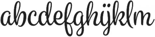 Spumante otf (400) Font LOWERCASE