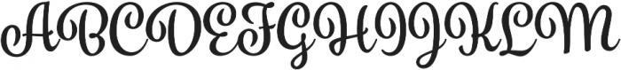 Spumante otf (700) Font UPPERCASE