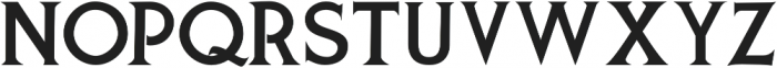 Spurred Gothic otf (400) Font UPPERCASE