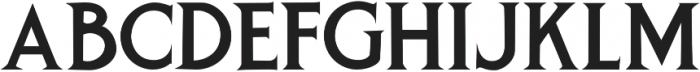 Spurred Gothic otf (400) Font LOWERCASE