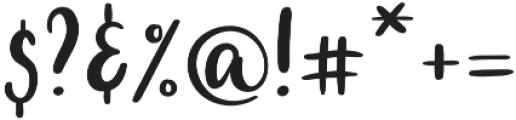 Sputra Regular otf (400) Font OTHER CHARS