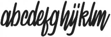 Spydolls Regular otf (400) Font LOWERCASE