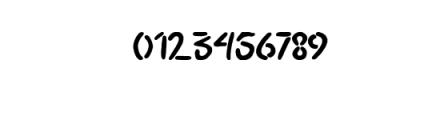 Spidoels Jadoels Hand writing Font OTHER CHARS