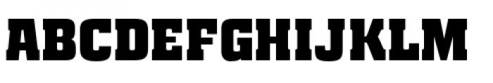Special Forces Regular Font UPPERCASE