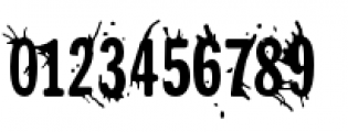 Splunge Regular Font OTHER CHARS