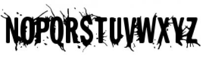 Splunge Regular Font UPPERCASE