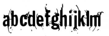 Splunge Regular Font LOWERCASE