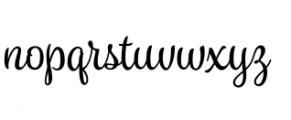 Spumante Regular Font LOWERCASE