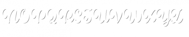 Spumante Shadow Font UPPERCASE