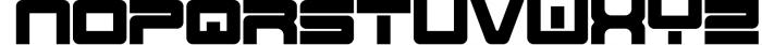 Spac3 Tech v17 Font UPPERCASE