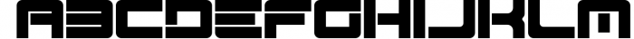 Spac3 Tech v17 Font LOWERCASE