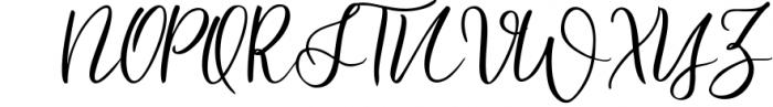Spontaneity - script font Font UPPERCASE