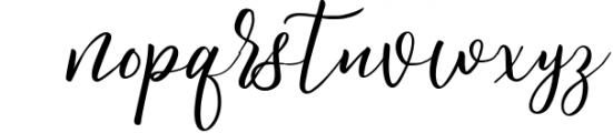 Spontaneity - script font Font LOWERCASE