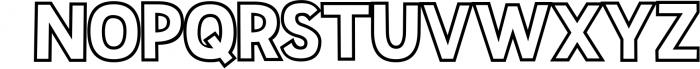 Sportsball - fun font with alternates! 1 Font UPPERCASE