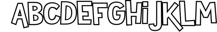 Sportsball - fun font with alternates! 1 Font LOWERCASE
