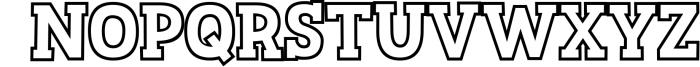 Sportsball - fun font with alternates! 2 Font UPPERCASE