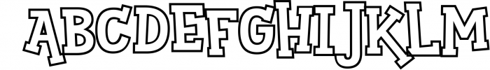 Sportsball - fun font with alternates! 2 Font LOWERCASE